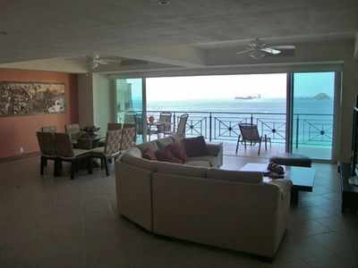 Ocean view from front entrace