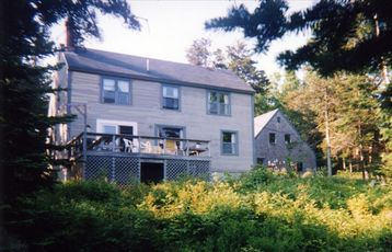 Owls Head house rental - A classic Maine Saltbox design right on the Bay!
