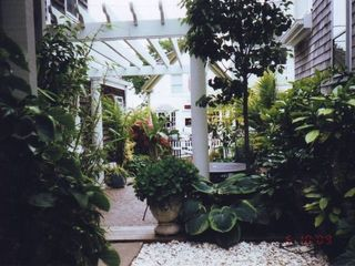 STROLL THE LAYERS OF GARDENS ON COMMERCIAL ST. - Provincetown condo vacation rental photo