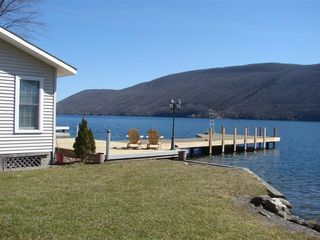 Canandaigua cottage photo - Yard and Dock and View!!