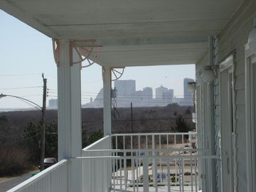 View of Atlantic City from Deck
