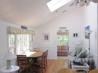 New Seabury cottage photo - Livingroom/dinningroom