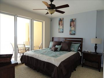 Master Bedroom with fantastic Views of the Beach