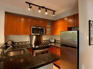 Whistler townhome photo - Renovated Kitchen w New SS Appliances and Granite