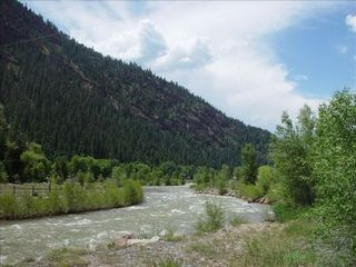 Ouray house photo - River Trail Across Street - walk to town