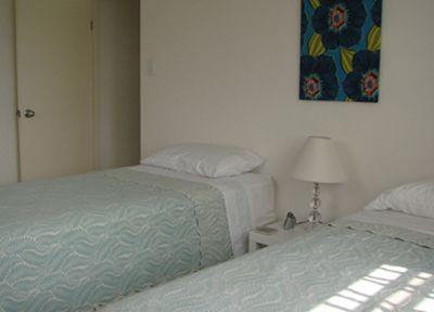 Vieques Island house rental - Second Bedroom Ex. Long Twins Convert to King on Living Level