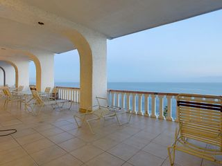Rosarito Beach condo photo - Large Deck
