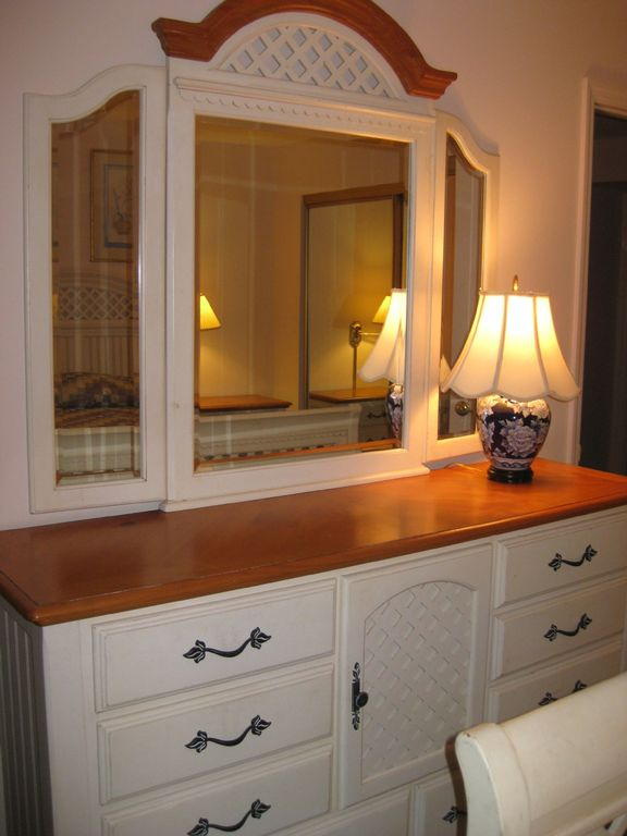 St Pete Beach Gulf Winds #100Master Bedroom Bureau