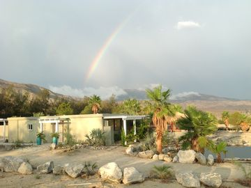 Thousand Palms cottage rental - Magic moment at the Casita...