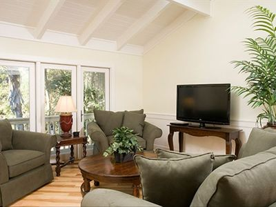 Sea Pines house rental - Second living area.