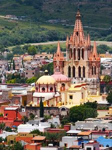 Historic San Miguel de Allende is a just Moments Away