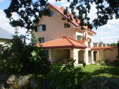 An oasis of  relaxation in the Kashubian countryside. A stylish house with a sauna, a large garden.