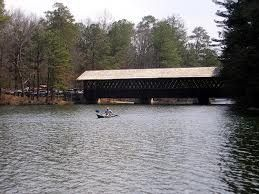 Covered bridge @ Stone Mtn. So many things to do-too much to mention. Google it!