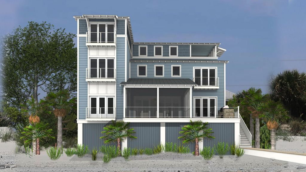 Beach Oceanfront 5br Handicapped Accessible Vacation Rental 5 Br Vacation House For Rent In