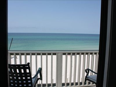 Balcony - what a view! Unobstructed view of the ocean. Beautiful!