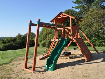 New playground, great for families with small children.
