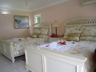 Cap Estate villa photo - Spacious Two Queen-size Bedroom/Bathroom Suite in Cottage
