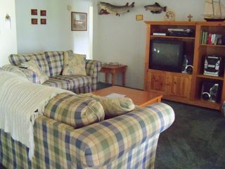 Lake Seminole house photo - Entretaining area w/ DirectTV, DVD-Vcr Player and stereo w/Am-Fm cassette and CD