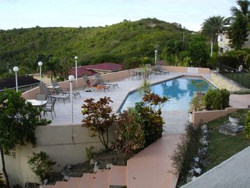 Antigua villa rental - Pool from Balcony