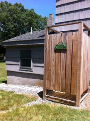 Westerly house photo - Awesome outdoor shower
