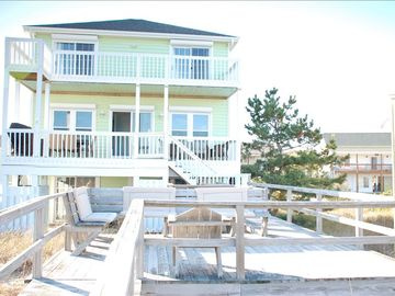 3 level oceanfront home