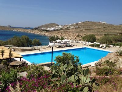 Mykonos bungalow rental - Swimming-pool