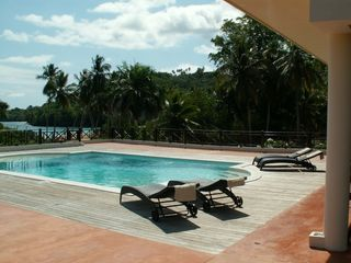 Samana villa photo - and a private swimming pool