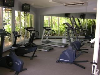 Vega Baja condo photo - Fitness room in condo complex.