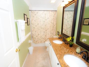2nd Floor Full bath with Granite Counter tops!