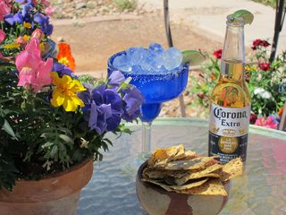 Tucson cottage photo - Happy hour on the patio