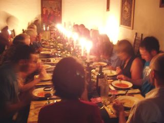 Tepoztlan estate photo - Chapel makes excellent setting for dinner parties!