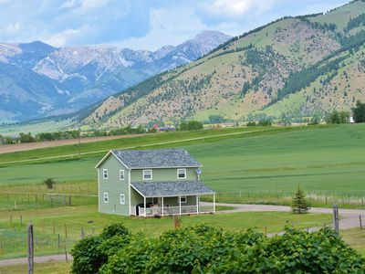 Every day is beautiful at The Roost @ Wild Mountain Ranch, 3 bedroom home.