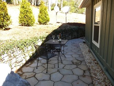 Patio for 2
