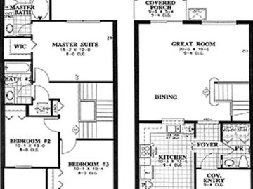Antigua - Floor Plan