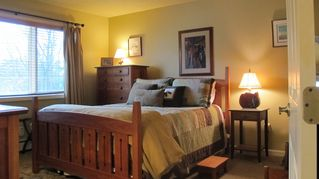 Bretton Woods townhome photo - The master bedroom has a new mattress and new cherry wood furniture.