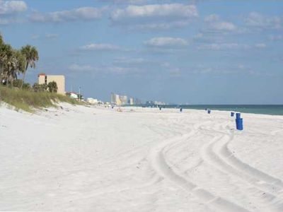 Our Beautiful, White Sand, Uncrowded Beach!
