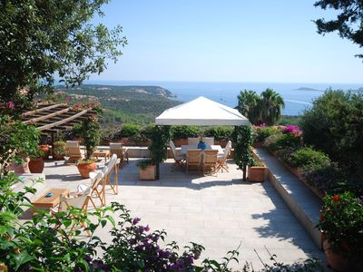 Beautiful villa with stunning views in Porto Cervo