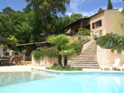 Detached villa on large estate with private pool and stunning views