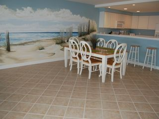 Oceans Pointe Ocean City condo photo - Dining Room with Mural