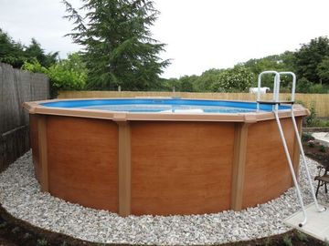 Swimmingpool diameter 5.50m