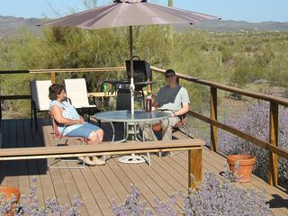 Wickenburg house photo - Keep cool while enjoying our spectacular desert views!