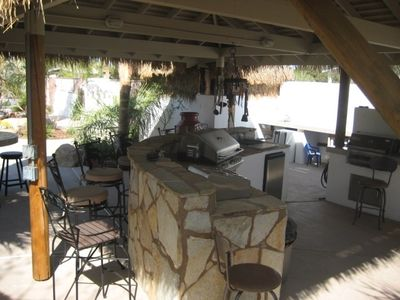 out door kitchen