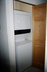 Bartlett condo photo - Washer and dryer in hallway