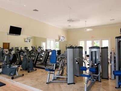 Gym fully equipped for all guests to enjoy