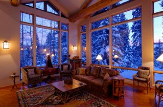 Four O'Clock Breckenridge house photo - Milano Meadows - Cozy up in the Great Room after spending a day enjoying fresh powder on the slopes!
