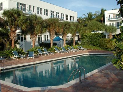 Key West condo rental - Community pool.