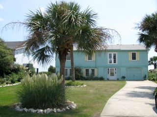 Seaside Serenity street side with lots of parking - Isle of Palms house vacation rental photo