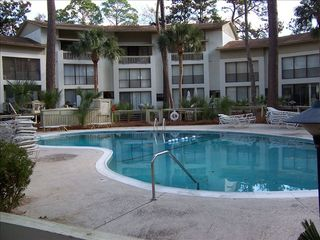 Forest Beach villa photo - Pool @ Seascape Villa - Hilton Head, SC
