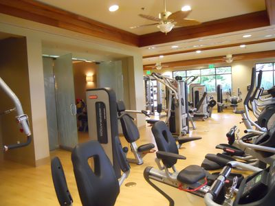 Kaanapali Alii offers a state of the art workout equitment