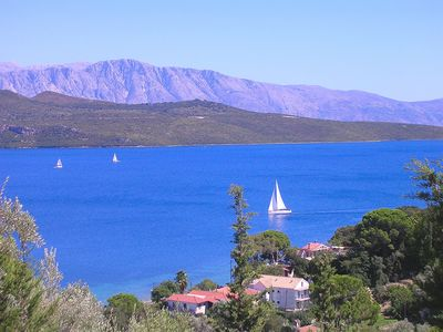 Apartment with stunning sea views in Villa del Arte, Lefkas, up to 4 people